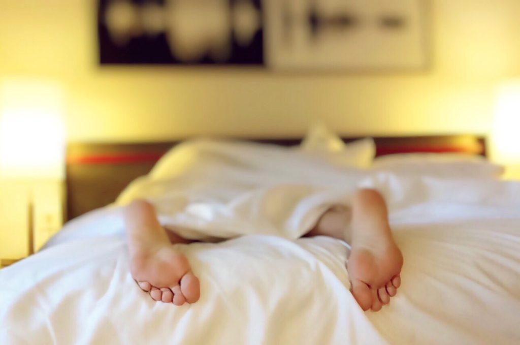 ベッド 足