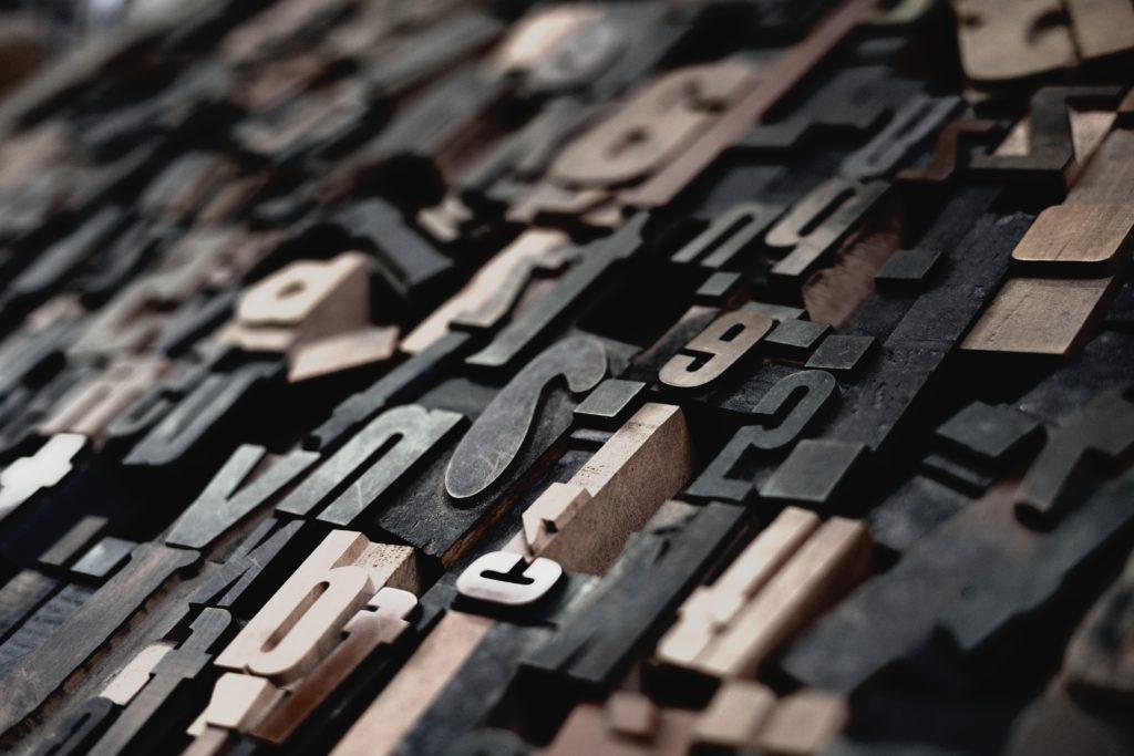 数字アルファベット