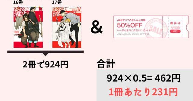 炎炎ノ消防隊 漫画最新話 電子書籍 安い