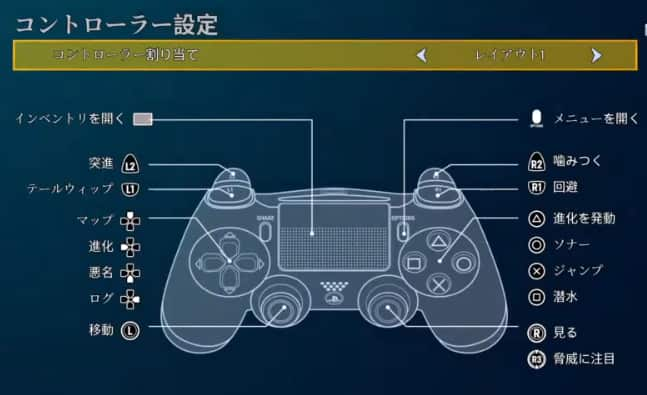 マンイーター ゲーム ps4 操作方法