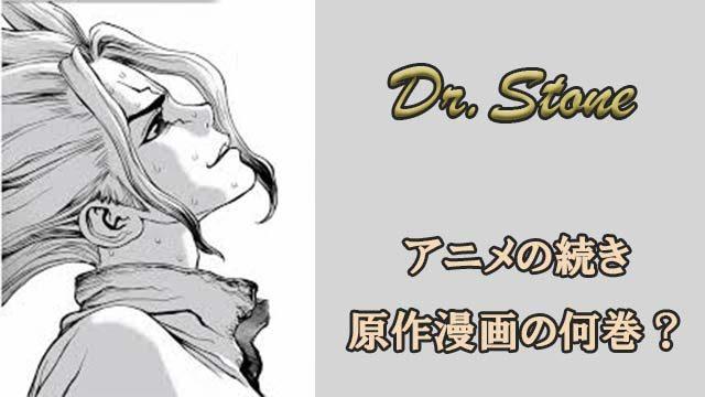 ドクターストーン アニメ 続き2期